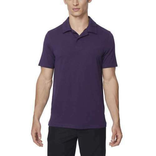 Neuf 32 Degrees pour Hommes Polo Performance, Prune