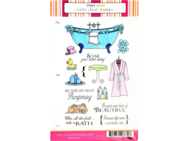 Craft Lounge Pretty and Pampered Stamp Set #CCM109