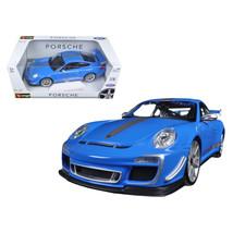Porsche 911 GT3 RS 4.0 Blue 1/18 Diecast Car Model by Bburago 11036BL - $59.82