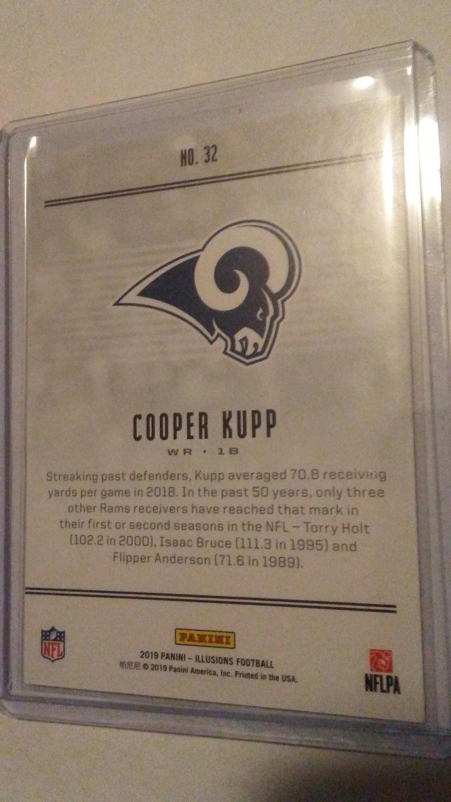 2019 Panini Illusions Cooper Kupp Los Angeles Rams image 2