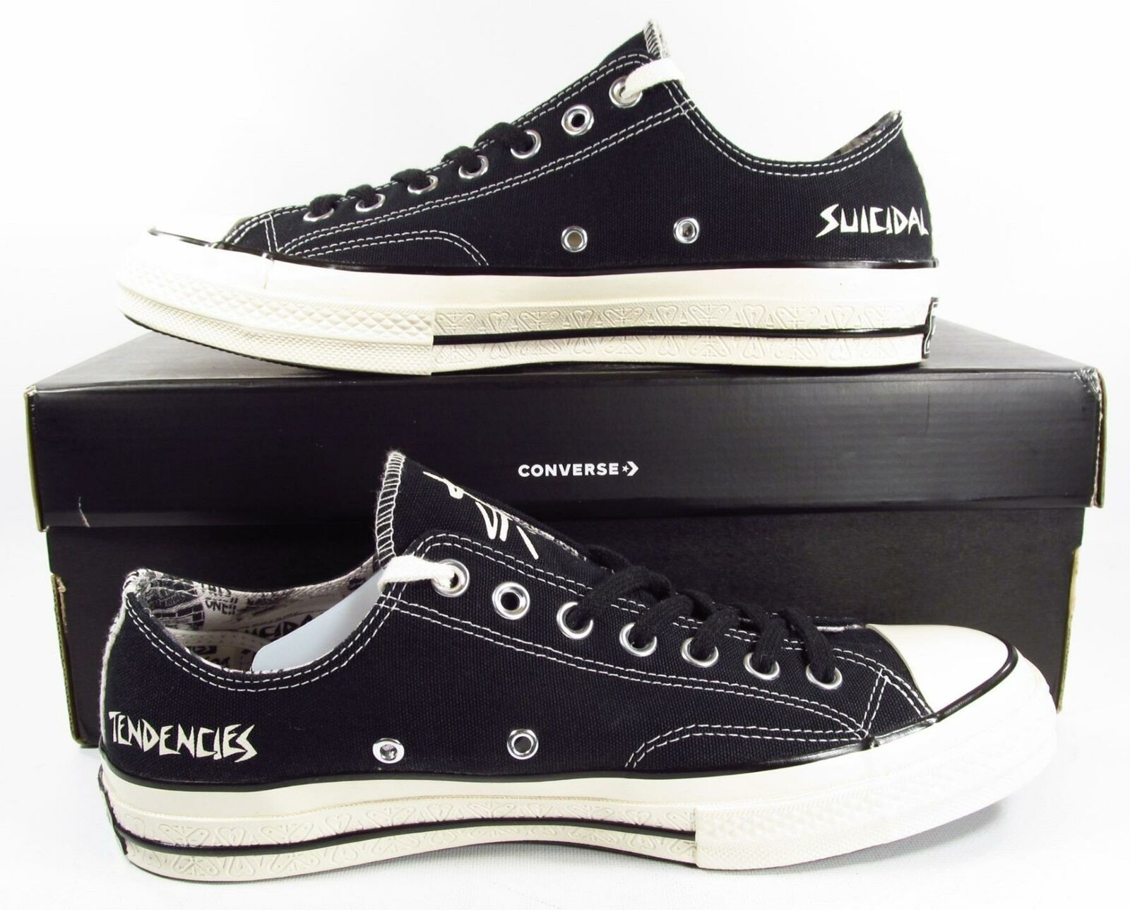 Converse x Suical Tendencies Chuck Taylor All Star Ox Chuck 70 BLACK 162881C