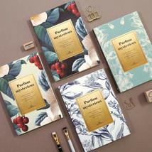 Perfume Diary Journal Undated Planner Scheduler Notebook Organizer Study... - $16.99