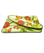 Vintage lacquer ware floral tray set, made in Japan - $38.00