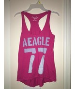 American Eagle Outfitters Pink Racerback Tank Top Size S/P Womens Casual - $9.90