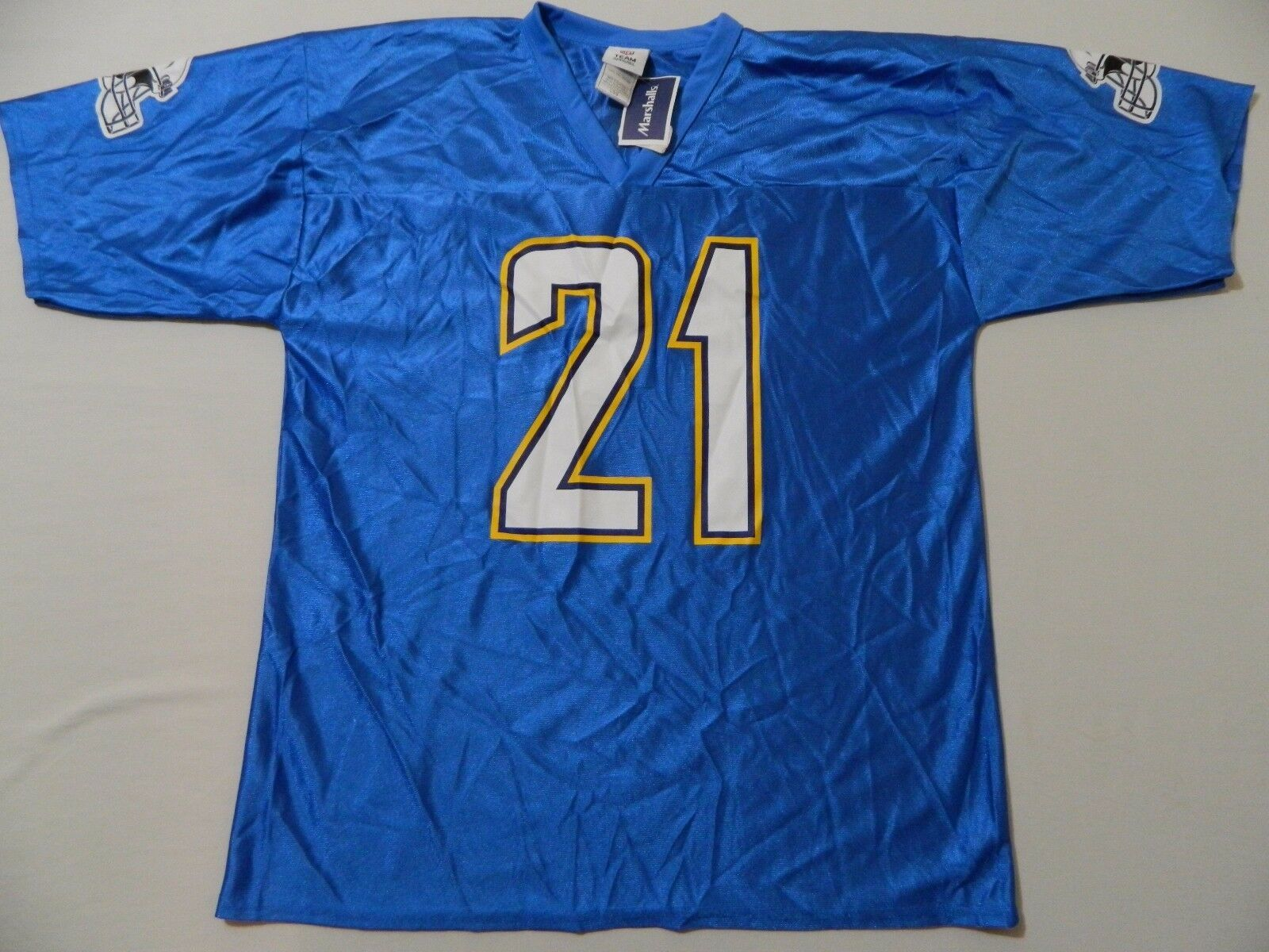Primary image for M74 New NFL San Diego Chargers LaDainian Tomlinson Blue Jersey MEN'S Sizes