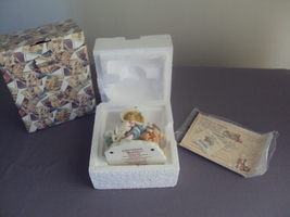 "Enesco Cherished Teddies New In Box ""Your Smile Can Melt My Heart"" - $35.00"