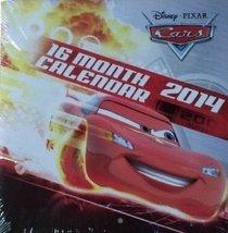 Disney Pixar Cars 2014 16 Month Square Wall Calendar - $3.33