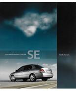 2006 Mitsubishi LANCER SE sales brochure catalog folder US 06 - $6.00
