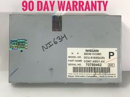"""""""NI634"""" Nissan Gps Info Screen Control Module 28330-CC26D Oem - $59.75"""