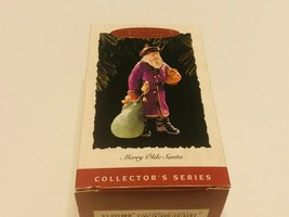 Hallmark Keepsake Ornament 1995 Merry Olde Santa - FREE SHIP - $15.00