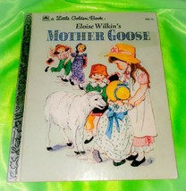 Vintage Little Golden Book 1961 Eloise Wilkin's Mother Goose Nursery Rhy... - $8.55