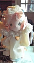 Precious Moments Last Forever Angie Doll w/ Stand - $14.00