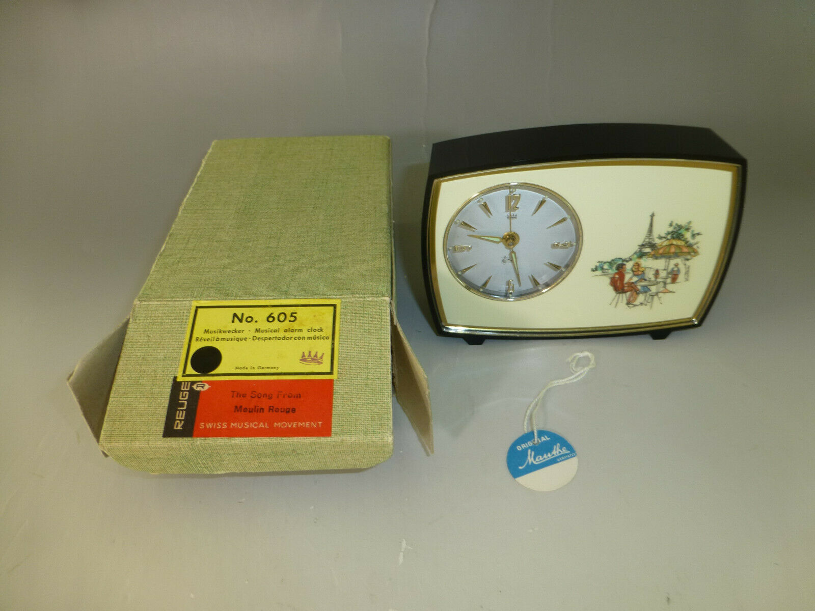 Rare Vintage Reuge Music Box Musical and 50 similar items
