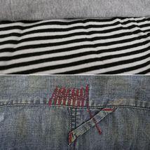 Men's Distressed Vintage Woven Hooded Denim Jean Cobain Shirt Jacket image 4