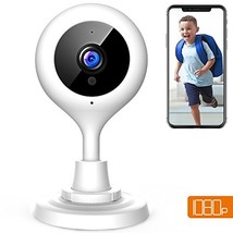 APEMAN WiFi Camera 1080P Baby Monitor IP Wireless Surveillance Indoor Se... - $40.55