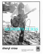 SHERYL CROW SIGNED AUTOGRAPHED AUTOGRAPH 8x10 RP PROMO PHOTO  ALL I WANN... - $16.69
