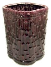Vintage Las Palmas Pottery California bamboo design vase - $15.00