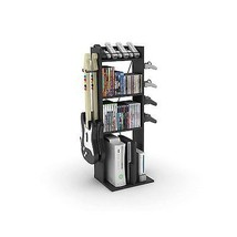 Game Central M Storage Rack Video Accessories Organizer Living Room Shel... - $48.48