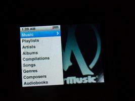 Apple iPod nano 3rd Generation Metallic Blue (8 GB) - $39.95