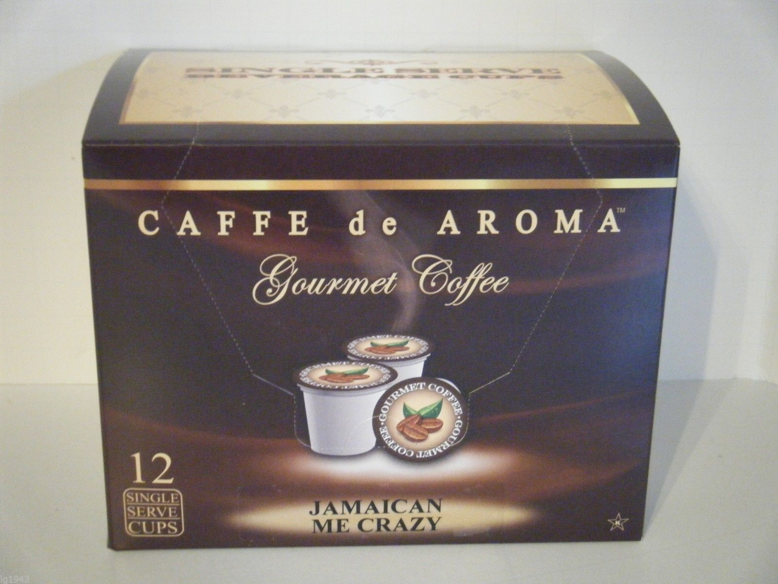 Jamaica Me Crazy 12 Single Serve Cups K-Cup Brewer Free Shipping