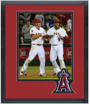 Mike Trout & Albert Pujols 2015 Angels -  11 x 14 Team Matted/Framed Photo - $43.55