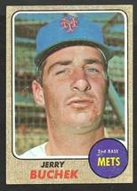 New York Mets Jerry Buchek 1968 Topps Baseball Card # 277 g/vg - $0.60