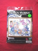 """Design Works """"East Meets West"""" Oriental Floral Counted Cross Stitch Kit 9706 New - $16.99"""
