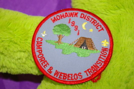 Boy Scouts Patch 1991 Mohawk District Camporee & Webelos Transition B.S.A. - $8.00