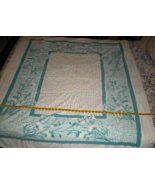 Tablecloth - 60 x 50 Linen Vintage from 1950's - $17.95