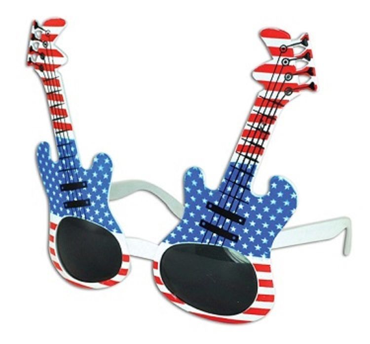 USA GUITAR SUNGLASSES - ONE ITEM