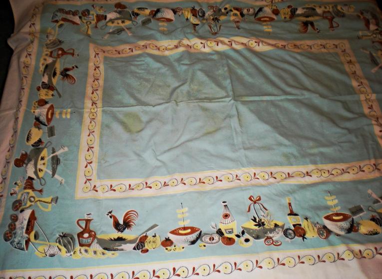 Tablecloth - 52 X 41 Linen Tablecloth