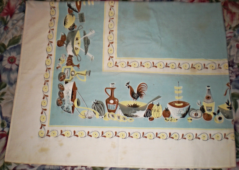 Tablecloth - 52 X 41 Linen Tablecloth  image 3