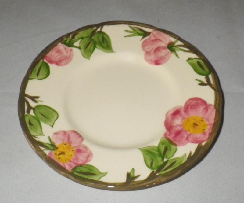 Franciscan Desert Rose Bread Plates Set of 8 Pottery Dinnerware Made in England