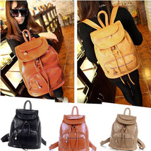 New Korean Women's PU Leather Fashion Shoulder ... - $20.89