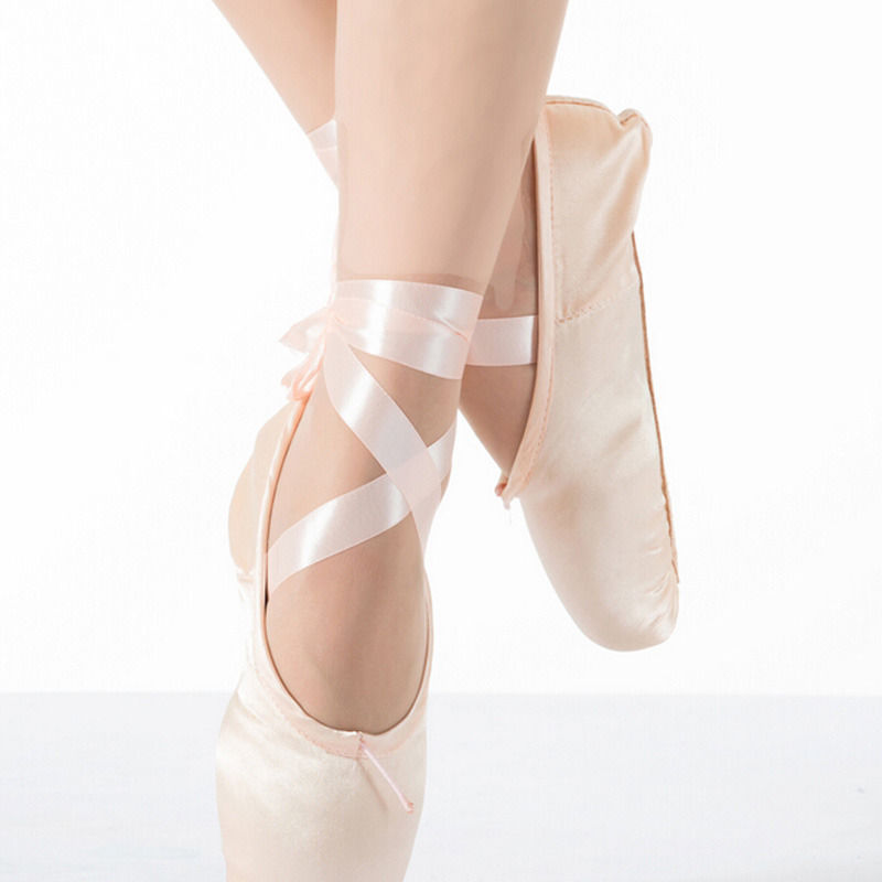 cb79e3dbdc50 Pink Ballet Dance Toe shoes Professional and similar items. 57