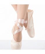 Pink Ballet Dance Toe shoes Professional Ladies children's Satin Pointe ... - $14.26