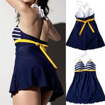 For Sexy Women's Padded Swimwear Push up Bathing Suit Bikini Swimsuit Skirt - $12.44+