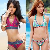 New Women's Sexy Fashion Trunks Bikini Padded Bra Swimsuit Bathing Suit ... - $11.38