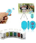 6Colors Wireless Bluetooth Selfie Remote Controller Shutter for iPhone C... - $3.79