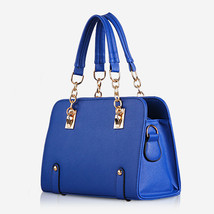 Design Womens Faux Leather OL Evening Tote Hand... - $27.54