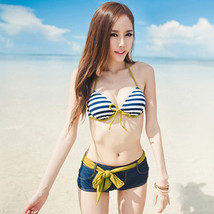 Women's Sexy Bikini Push-up Padded Bra Bathing Suit Swimsuit Swimwear + ... - $15.19