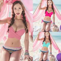 Sexy Women's Trunks Bikini Push-up Padded Bra Swimsuit Bathing Suit Swim... - $14.24