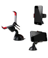 Black Universal Car Mount Holder 360 for iPhone Samsung Galaxy S4 S5 Pho... - $2.82