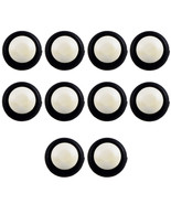 Lot10 White 12mm Momentary Waterproof Round Push Button Toggle Switch Sales - $4.55