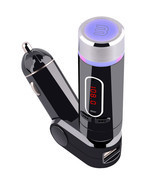 Wireless FM transmitter Bluetooth Handsfree Call Car MP3 Player for iPho... - ₹1,527.79 INR
