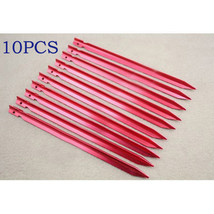 Sales 10 Pcs alloy Tent Peg Stake Outdoor camping necessary Trip Surviva... - $8.84