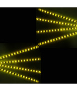 8 X Yellow 15 LED 30cm Car Auto Girll Flexible Waterproof Strip Light SM... - $8.05
