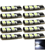 10Pcs T10 194 168 W5W 5050 LED 6 SMD White Side Wedge Light Bulb Sales - $4.65