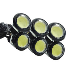 6 X Car 10W LED DRL Eagle Eye Light Daytime Reverse Backup Parking Turn Signal - $10.13