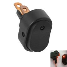 12V 30A Heavy Duty Round Red LED Rocker Toggle Switch Car Motor Boat Sales - $2.46